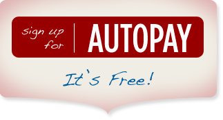 signup for autopay...it's free!